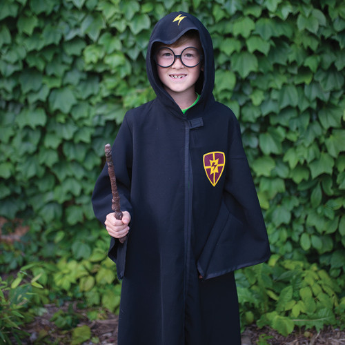 Wizard School Cloak and Glasses