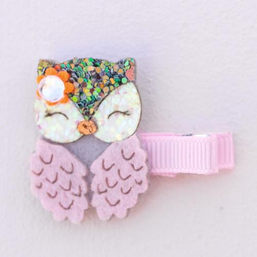 Dear Owl Hairclip