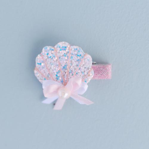 Sparkle Shell Hairclip