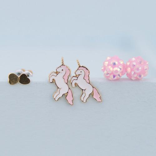 Unicorn Earring Set