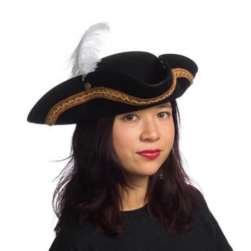 Leatherlike Pirate Hat