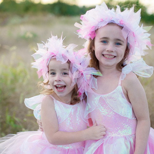 Iridescent Fairy Dress and Halo