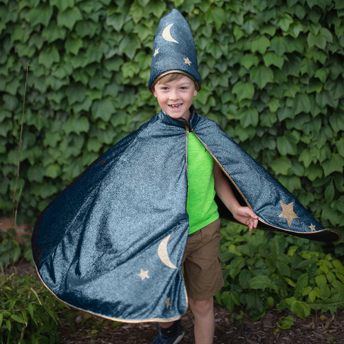 Starry Night Cape and Hat