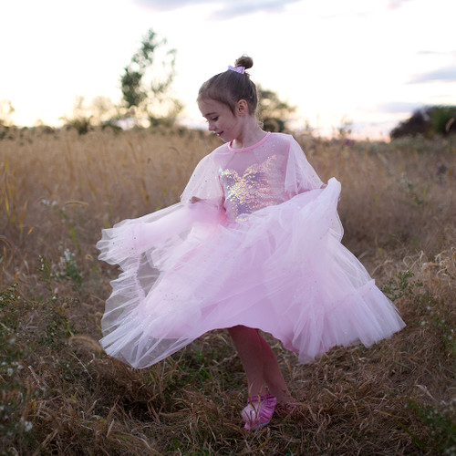 Elegant in Pink Gown