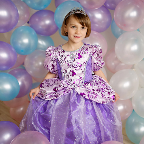 Royal Lilac Princess Gown Age 4-8 years
