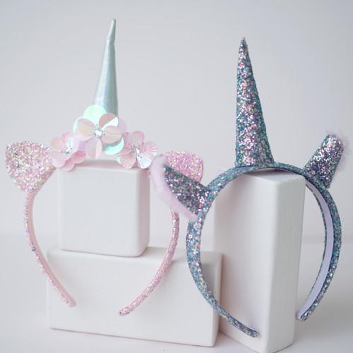 Glitter Unicorn Headband