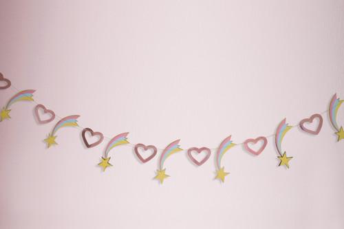 Hearts and Stars Garland