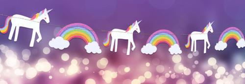 Unicorns and Rainbows Garland