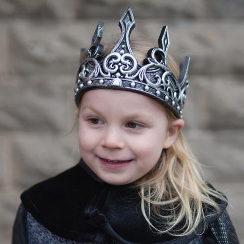 Antique Silver Medieval Crown