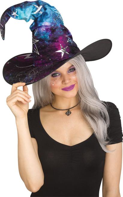 Galaxy Witch Hat