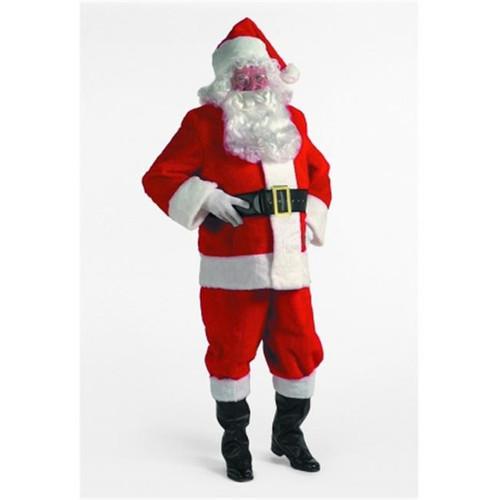 Rental Quality Plush Santa Suit sz 42-48