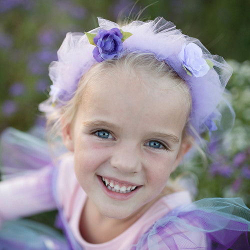 Lilac Forest Fairy Halo