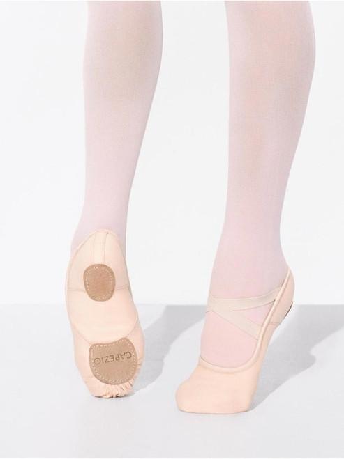 Capezio 2037C Hanami Canvas Ballet Shoe - Pink