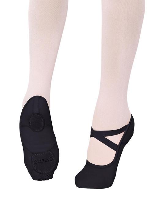 Capezio 2037C Hanami Canvas Ballet Shoe - Black