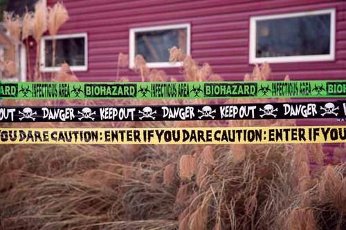 Biohazard Caution Tape