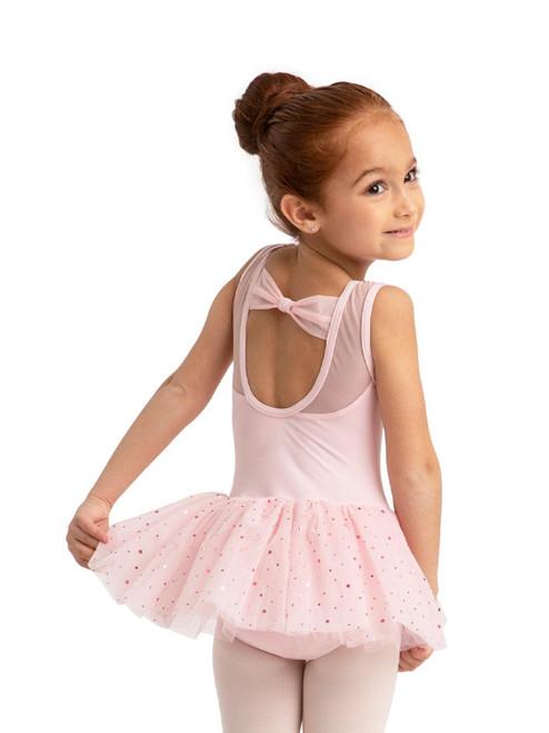 Keyhole Sparkle Tutu Dance Dress
