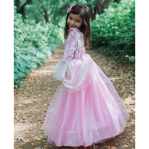 Pink Rose Princess Gown Age 2-6