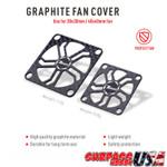 Rocket 30mm Graphite Fan Cover Designed for Aluminum Fans