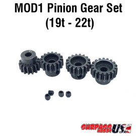 Rocket MOD1 Pinion Gear Set 19T-22T MOD11922