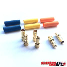 Rocket 3.5mm Bullet Connector Set (3pr M/F) BUL-35MM