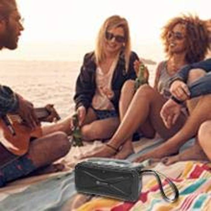 Bluetooth Wireless Clear Bass Speaker Rugged In/Out Door | Waterproof IP7