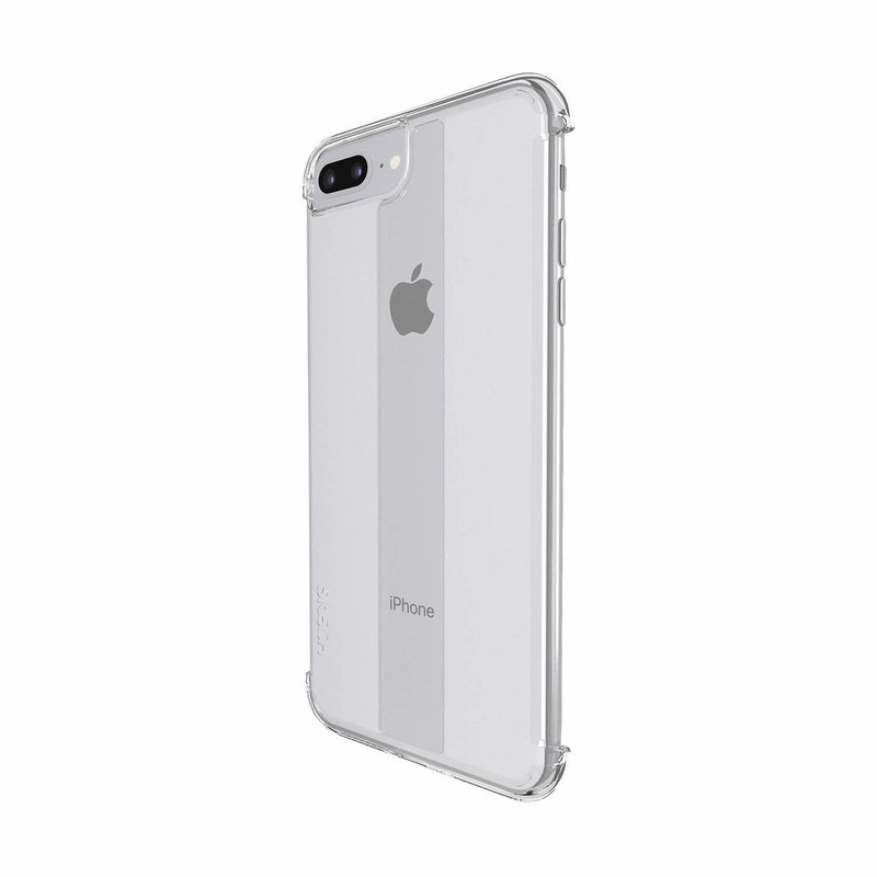 Skech Stark IPhone 8 Plus/7 Plus/6 Plus 8Ft  Drop Protection, Shockproof  Cover Case| Black/ Clear