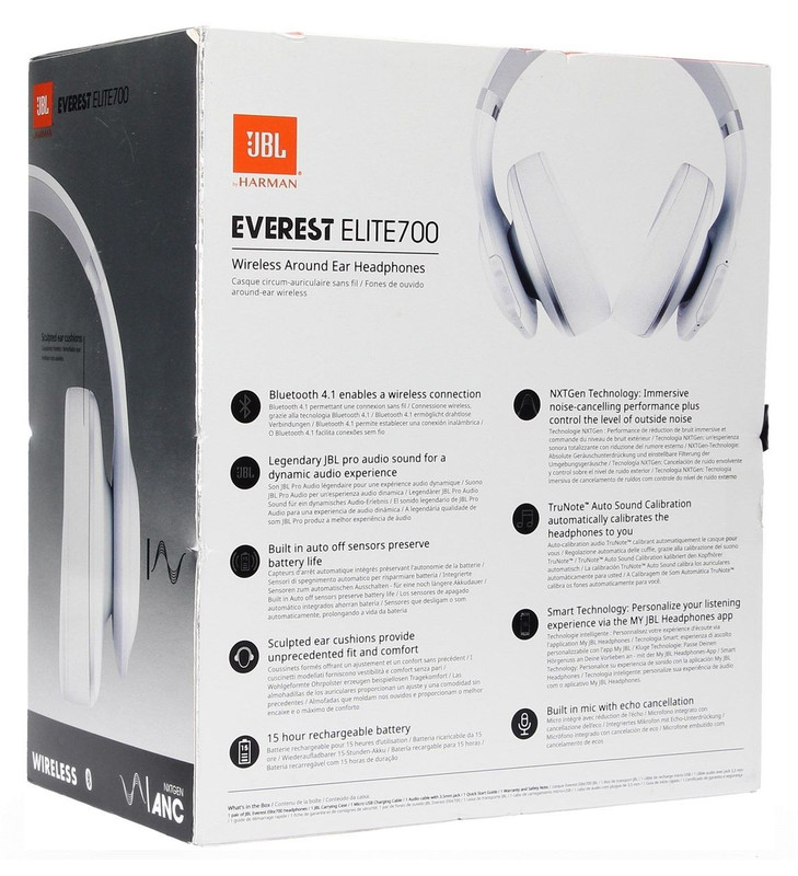 JBL V700NXT EVEREST Elite 700 Over Ear Bluetooth Wireless Headphones  (Black) For Samsung Galaxy / Motorola / LG/ Zte/ Apple Iphones Smartphones