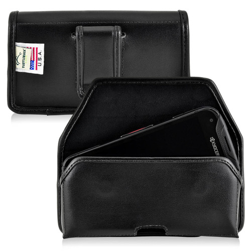 Duraforce Pro 2 Leather Rugged Horizontal Holster Pouch Case