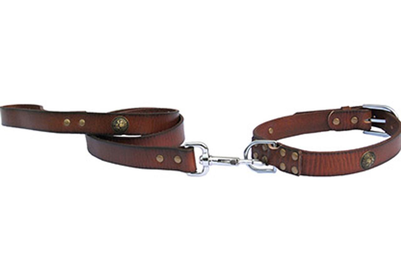 Bahia Leather Lead