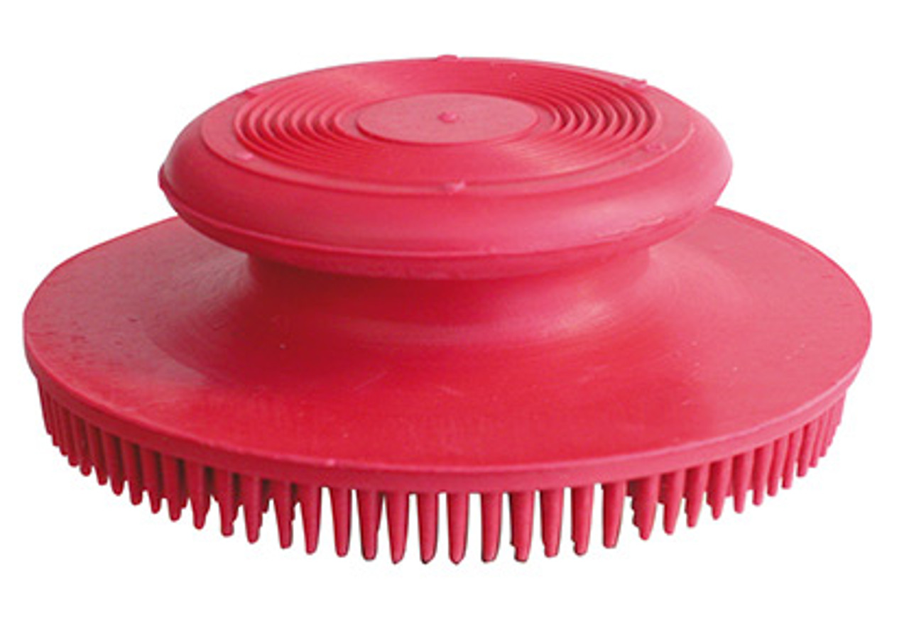Show Tech Rubber Brush Round