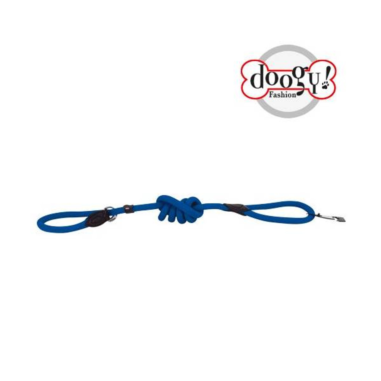Nylon Rope Lead Blue