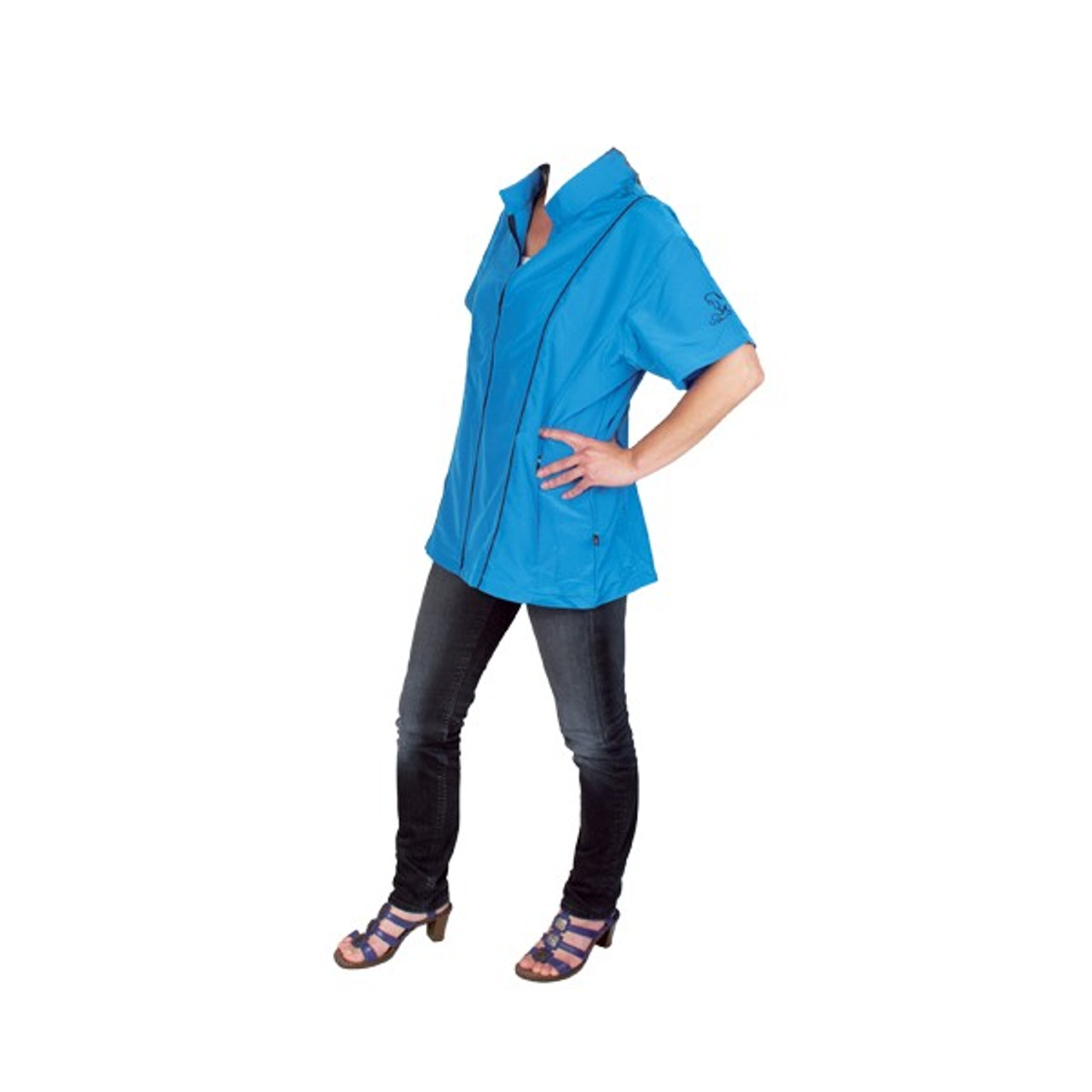 Angela Grooming Jacket Blue