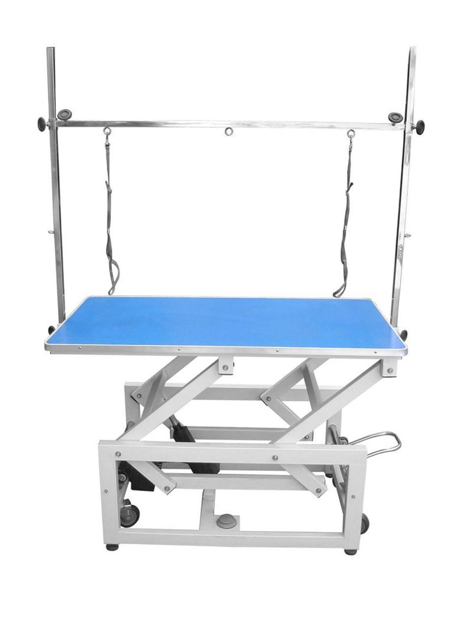 CCP Supreme Electric Table Blue 120cmsx65cmsx58-110cms