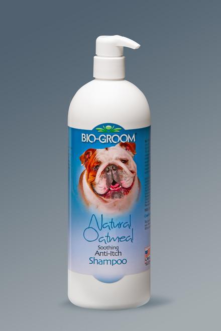 Biogroom Natural Oatmeal anti-itch shampoo 946ml