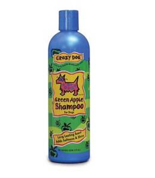 Crazy Pet Green Apple Shampoo 355ml