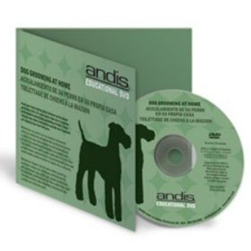 Andis Dog Grooming at home DVD