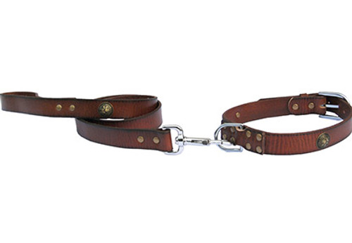 Bahia Leather Lead