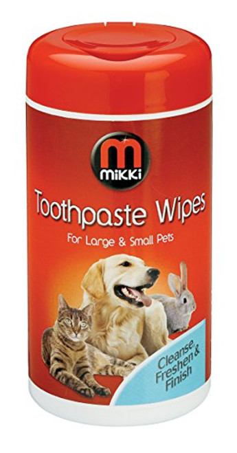 Mikki Toothpaste Wipes (70pcs)