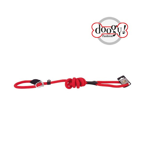 Nylon Rope Lead Red