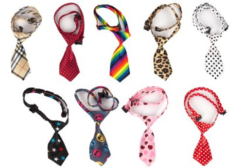 Show Tech Canine Costume Ties 10 Pack Assorted