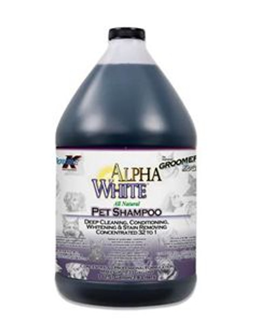 Double K Alpha White Shampoo 3.8 Litre