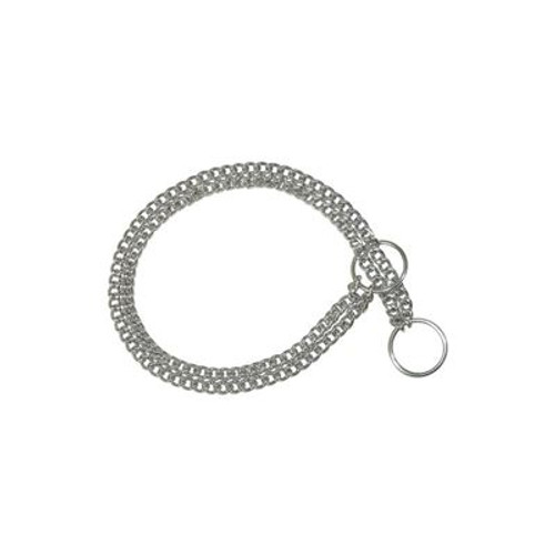 Double Link Silver Chain
