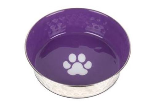 Show Tech Pet Bowl Anti-Slip Purple