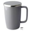 Mug, Infuser Dew 18 oz. Gray