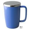 Mug, Infuser Dew 18 oz. Blue Glossy