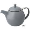 Teapot, Curve 24oz. (Grey)