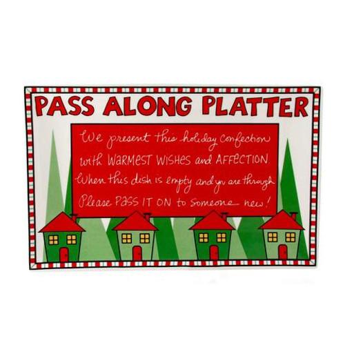 Platter,  Christmas pass along