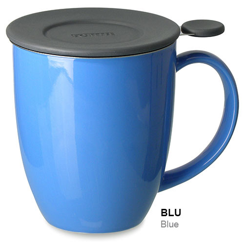 Mug, Infuser Uni Brew (Blue)