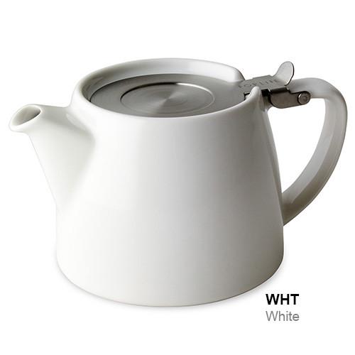 Teapot, Stump 18 oz.w/Inf. White