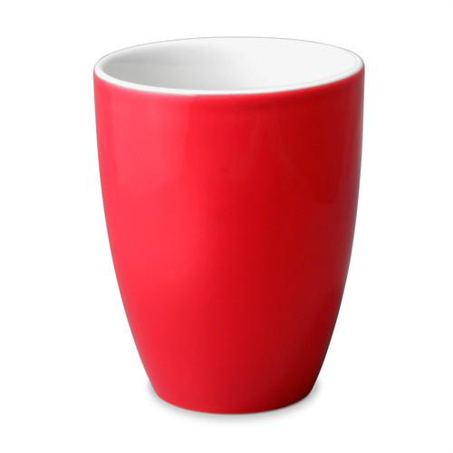 Uni Teacup, 6.5oz Red